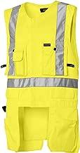 Blaklader Yellow Size Medium Hi-Vis Utility Vest for Carpentry Construction