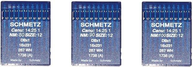 Agujas Schmetz para maquinas de Coser 1738 industriales DBx1 ...