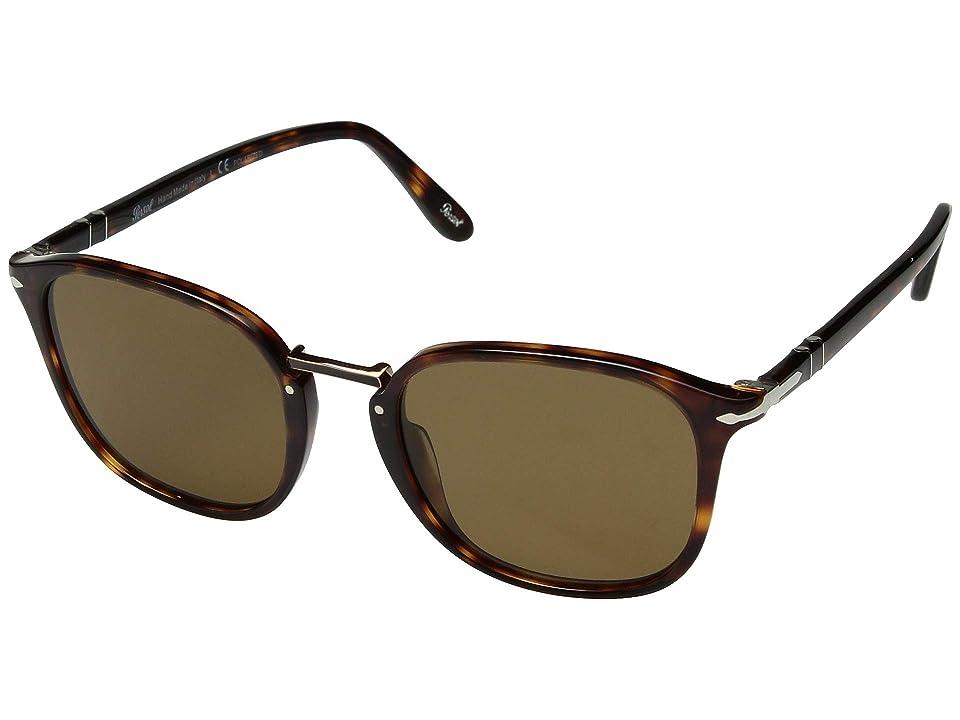 Persol 0PO3186S (Havana/Brown Polarized) Fashion Sunglasses