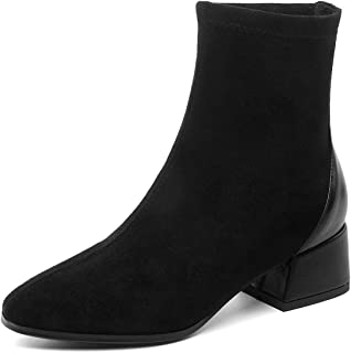 Kitulandy Women's Boots Ankle Comfortable Heels Booties Shoes