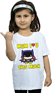 DC Comics Girls Batgirl Mum I Love You This Much T-Shirt