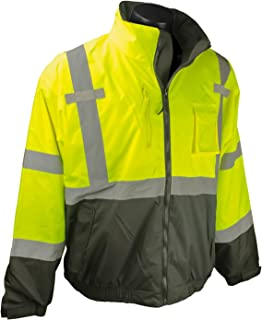 SJ210B Three-in-One Deluxe High Visibility Bomber Jacket