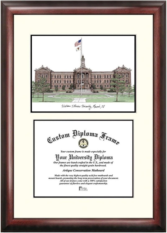 Western Illinois UniversityScholar Diploma Frame