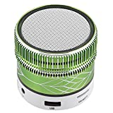 Small Mini Bluetooth Speaker LED Light Music Player Desktop Speaker...