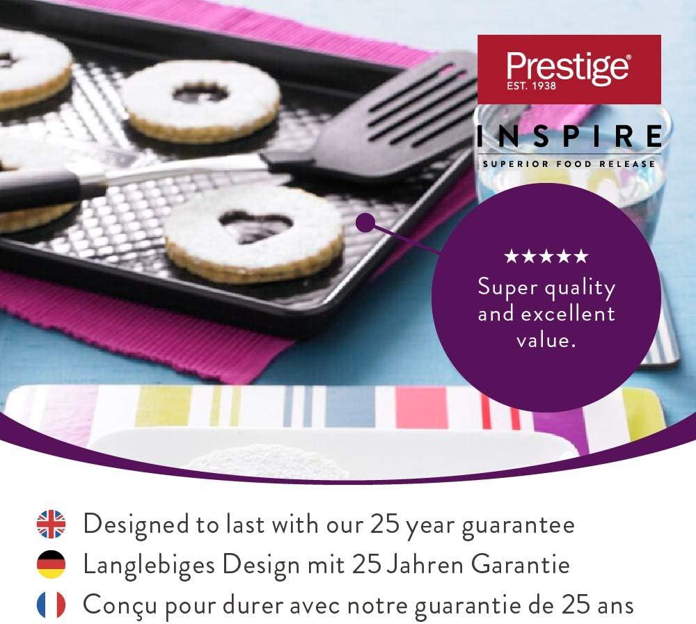 Prestige Inspire Set Cuisson 3 pi/èces mat/ériel p/âtisserie antiadh/ésif en Acier Carbone avec Moule /à g/âteau Moule /à Cake et Moule /à Muffins