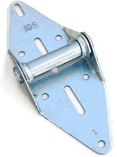 Garage Door Hinge Heavy Duty 14 Gauge Steel #1 with Galvanized Finish - Residential/Light Commercial Garage Door Replacement (JGS)
