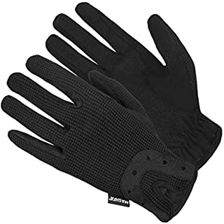 Mashfa Ladies Women Horse Riding Gloves Cotton Dublin Track Fabric Shires Gloves Leather Equestrian Gloves