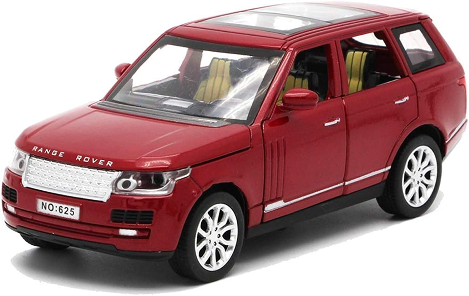 Car Model Car Model 1 32 Simulation Toy car Model Alloy car Model Sound and Light Model car (color   Red)