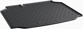 Gledring 1802 Rubbasol (Rubber) Trunk mat Seat Leon 5F 5-Doors 2013, Black