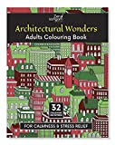 Zen Sangam Architectural Wonders Adults Coloring Book for Calmness and Stress Relief