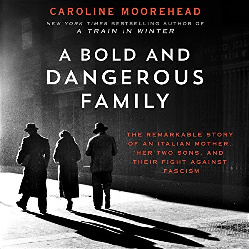 A Bold and Dangerous Family audiobook cover art