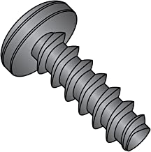 5//16 Length #2-28 Thread Size Pack of 100 Pan Head Phillips Drive Steel Thread Rolling Screw for Plastic Zinc Plated