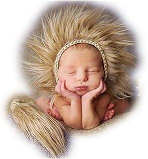 9b1a65aae346 Bebé recién nacido fotografía apoyos niño Niña Gorro de Crochet disfraz  trajes Cute