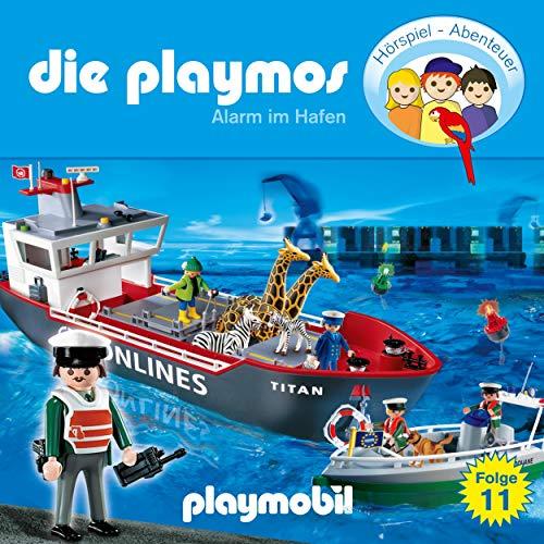 Alarm im Hafen. Das Original Playmobil Hörspiel Titelbild