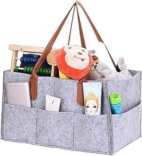 endosy Portable Multifunction Multi-pocket Toiletries Cosmetics Felt Storage Bag (Gray)