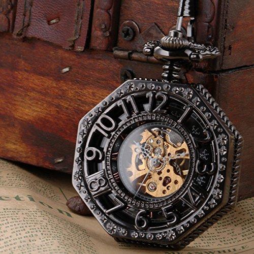 SIBOSUN『八角形カバー懐中時計』