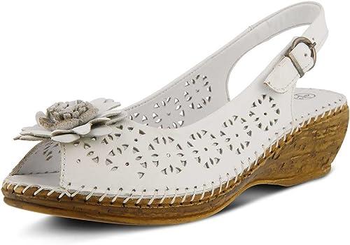 Spring Step Wohommes Wohommes Belford blanc Sandal
