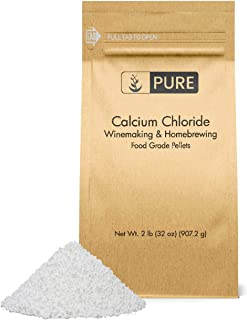 PURE Calcium Chloride (2 lb.), Eco-Friendly Packaging, Highest Quality, Food Safe, For Wine Making, Home Brew, & Cheese Ma...