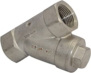 3/4 WYE STRAINER Mesh Filter Valve 800 WOG Stainless Steel SS316 CF8M NEW by Generic