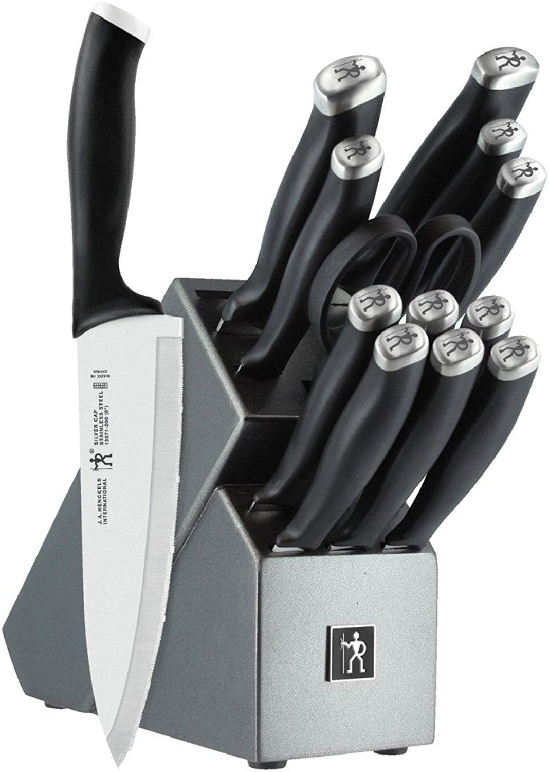 J.A. Henckels International SilverCap 14-Piece Block Set