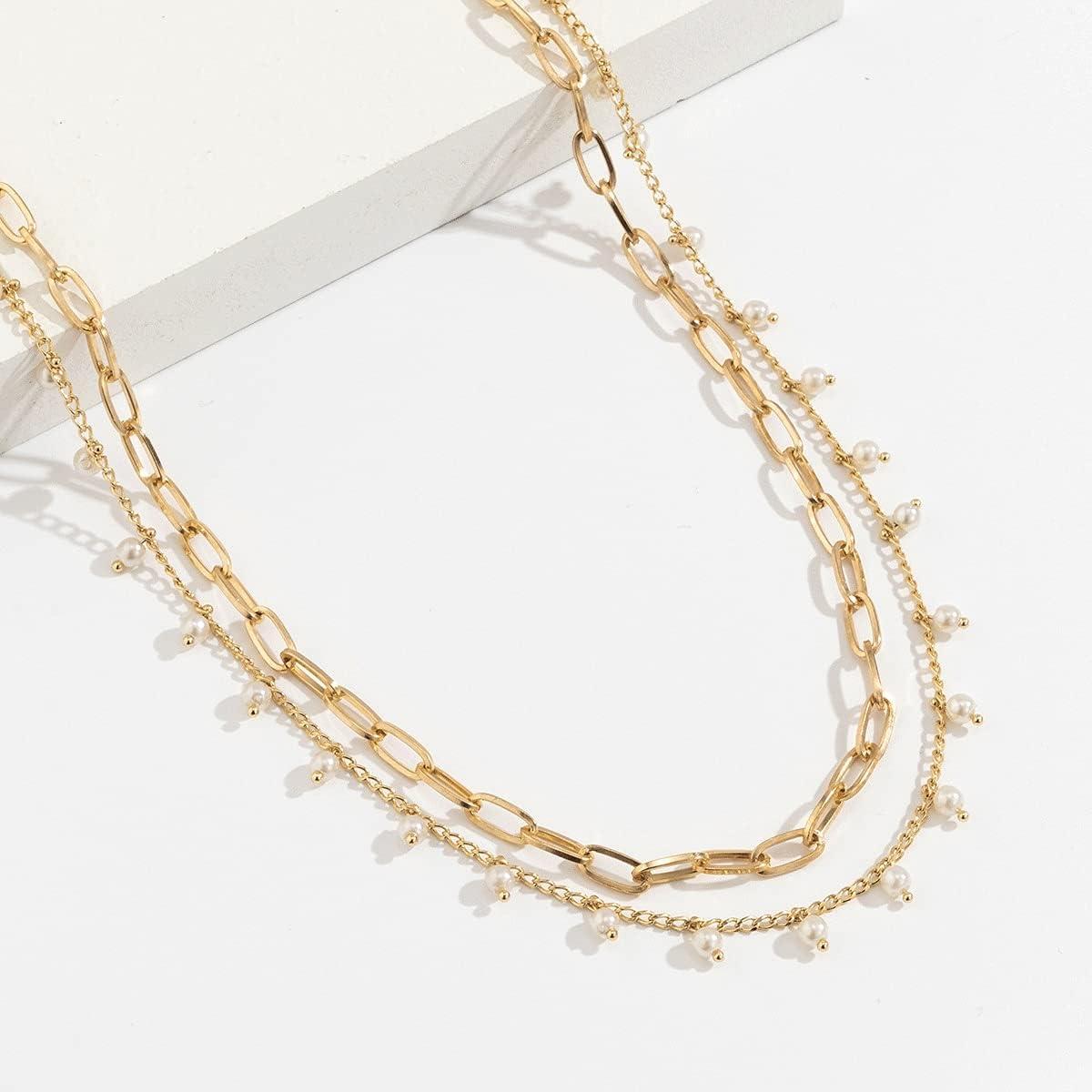 SPNEC 2021 Trends Fashion Sexy Bikini Beach Waist Chain Pearl Cross Body Chain Female Body Jewelry Abdomen Chain Women Exclusive (Color : Gold, Size : 75+25cm)