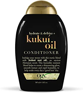 Organix Ogx Hydrate and Defrizz Kukui Oil Unisex All Hair Conditioner, 385 ml