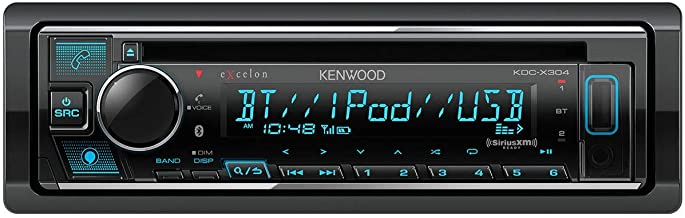 Kenwood eXcelon CD Receiver with Bluetooth