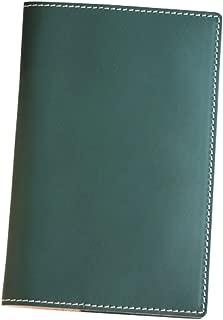 (ブラン・クチュール)BlancCouture 本革手帳カバー「ジブン手帳 mini」サイズ用カバー/国産フルタンニンドレザー(オリーブフィーユ)