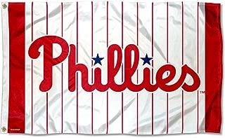 WinCraft Philadelphia Phillies Pinstripes Logo Flag 3x5 Feet Banner