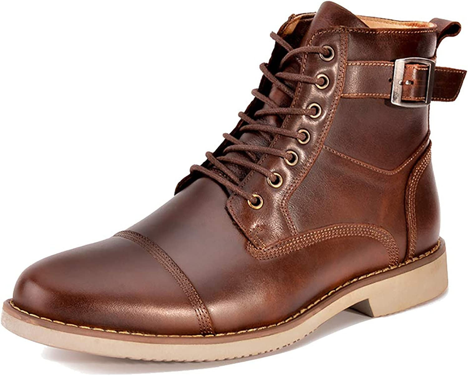 Men's High-top shoes Dr Martens Unisex Adults' Boots Casual Leather Cowboy Boot Lace-ups Work & Safety Boots