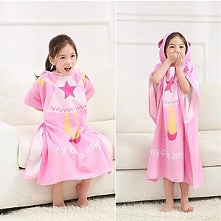 Print Yoga Mat Children'S Bath Towel Pink Hooded Five-Pointed Star Pattern 瑜伽垫