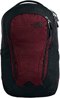 The North Face Women's Vault Backpack, Deep Garnet Red Light Splinter Heather/TNF Black