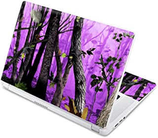 """MightySkins Skin Compatible with Acer Chromebook 15 15.6"""" (2017) - Purple Tree Camo 