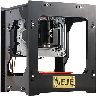 Yihiro レーザー彫刻機 1000mW 卓上 DIY道具 加工機 軽量 USB オフライン操作可 木、プラスチック、竹、ゴム、革、切り紙など対応 保護メガネ付き 彫刻機