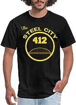 Spreadshirt Pittsburgh The Steel City Men's T-Shirt