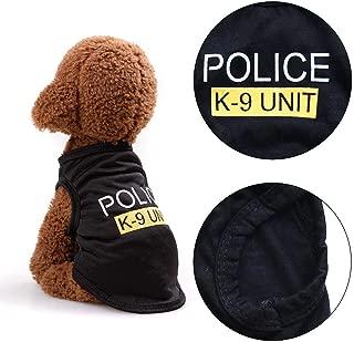 NANCY99 Pet Dog Cat Vest T-Shirt Coat Pet Adjustable Clothes Calming Collar for Cat