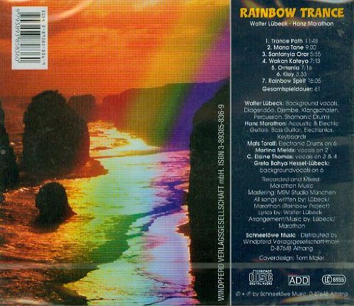 Rainbow Trance - Rainbow Project / Windpferd-Music/Schneelöwe-Music [AUDIO-CD, 7 Tracks (Ethno/Percussion/Trommeln, Didgeridoo, Guitar), Gesamtspielzeit 61 min.]