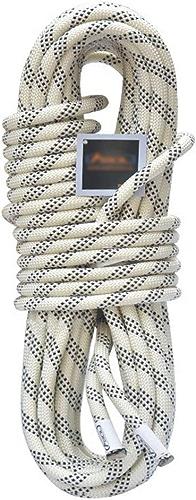 IG Corde d'escalade de sécurité résistante à l'usure, Corde de sécurité Statique de 12 mm pour Corde Corde d'escalade Corde d'escalade en Plein air, équipement de Corde de Sauvetage