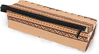 Glasses Case Hi Classic Africa Art Multi-Function Zippered Pencil Box Makeup Cosmetic Bag for Women