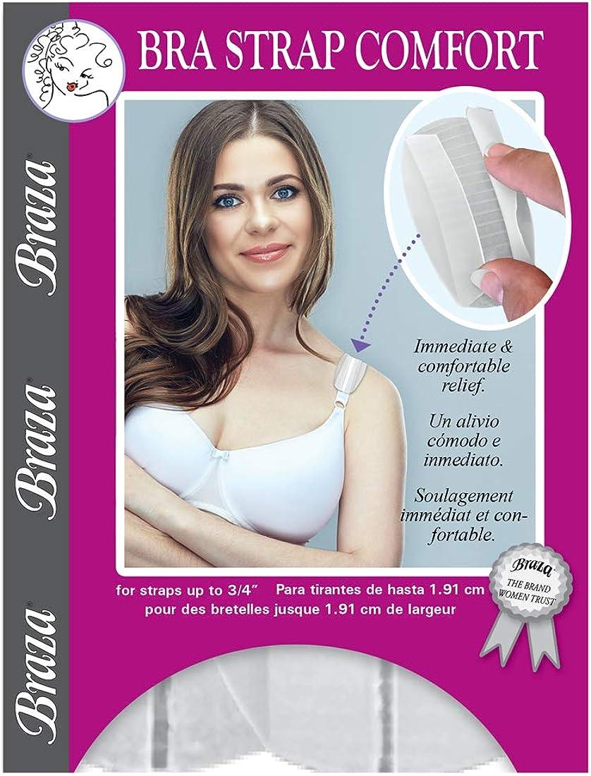Cush-eez Bra Strap /& Shoulder Comfort Pads Supportables