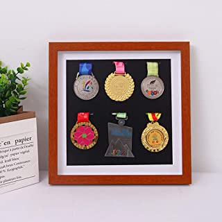 WANLIAN Factory Direct Large Military Medal Display Cabinet, Military Medal Storage Box, Badge Sign, Medal Display Box, Medal Frame, Medal Display, Military Trophy Storage Box (Solid Wood)