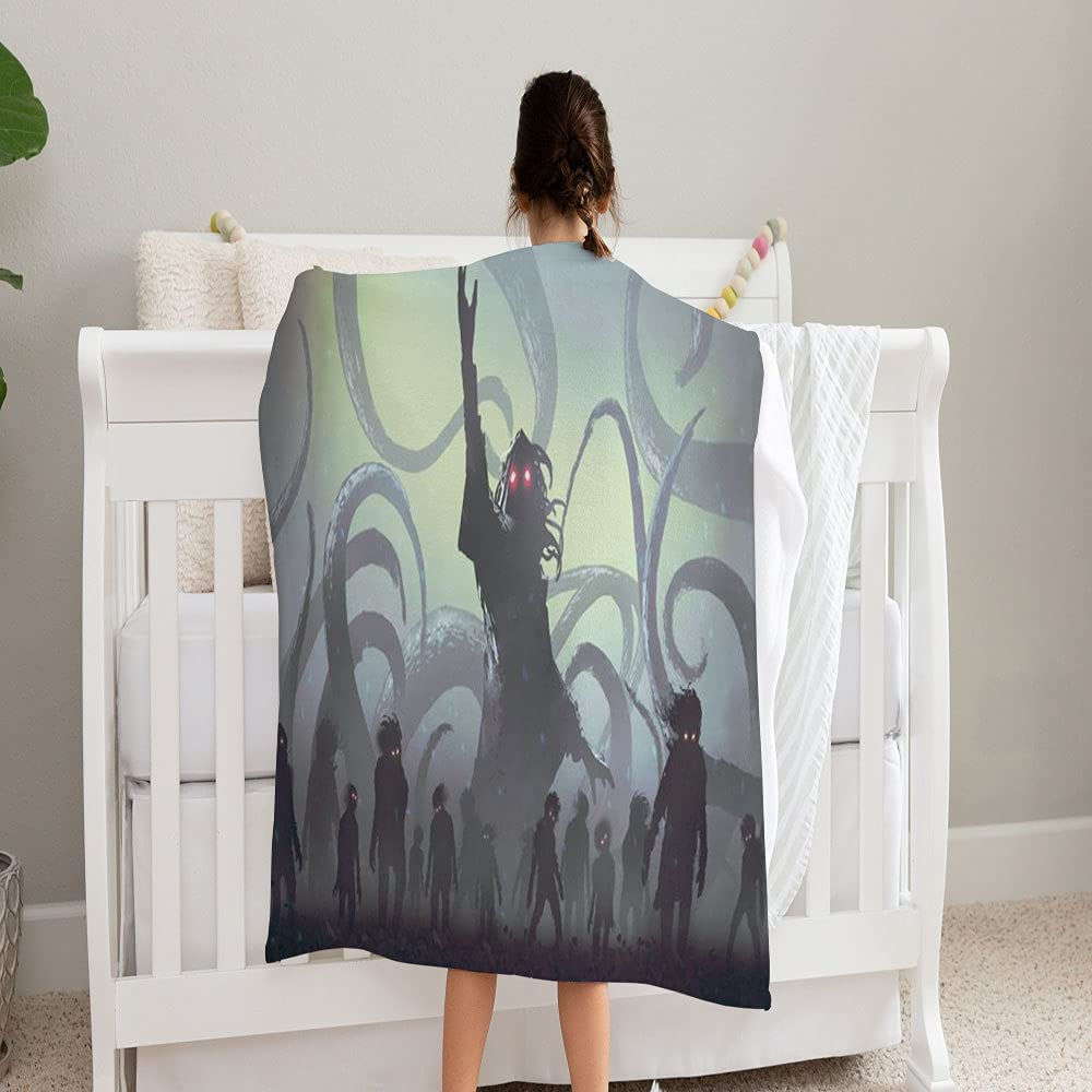 LPVLUX Cheap sale Undead Sorcerer Casting Ranking TOP14 Spell Coz Blanket Super and Soft