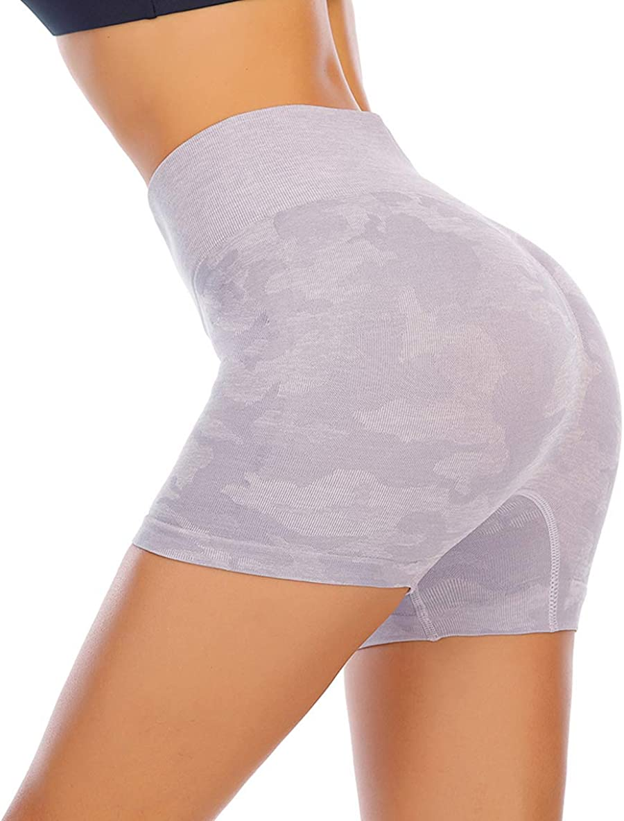 Women's High Sale price Waisted Yoga Sports Booty Runched Gym Worko Shorts Gifts