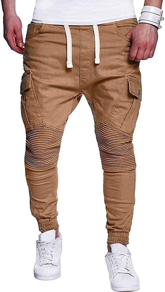 Challenge the lowest price Bmeigo Mens Tracksuit Bottoms Elasticated Slim Ca Trousers All stores are sold Waist