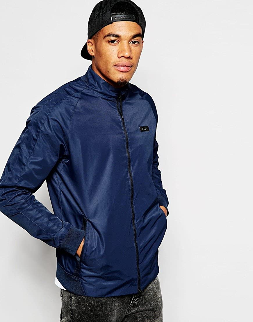 Nike Men's F.C. Woven N98 Soccer Track and Field Bomber Jacket