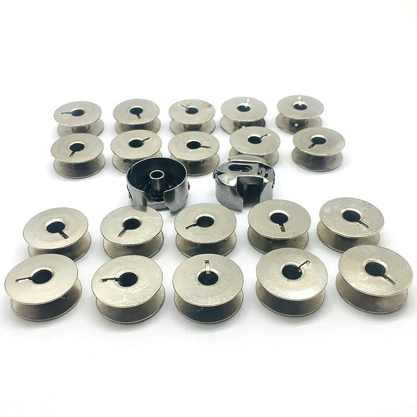 HONEYSEW HONEYSEW 20PCS Bobbins 9033 &2PCS Bobbin Case 9076NBL for Pfaff 93, 933,138 ,234 ,238, 331 Sewing Machine