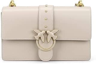 Luxury Fashion | Pinko Womens 1P21EGY5FFD08 Beige Shoulder Bag | Fall Winter 19