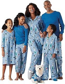 Navidad Familia Conjunto de Pijamas - Daddy Mommy Muchachos Chicas Niños Familia Matching Impresión Ropa de Dormir