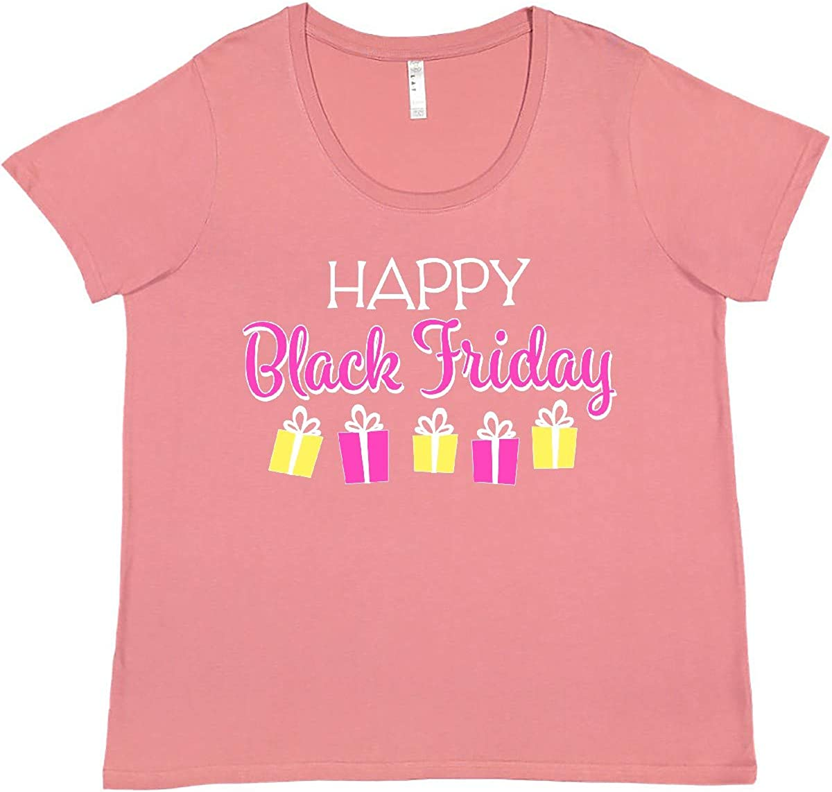 inktastic Happy Gift Shopping T-Shirt Size Plus Super special price Women's Finally resale start