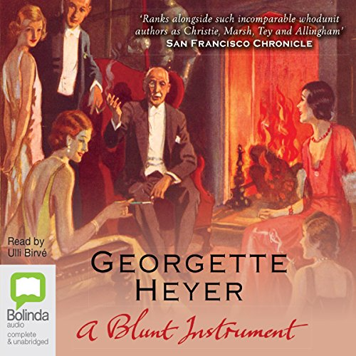 A Blunt Instrument audiobook cover art